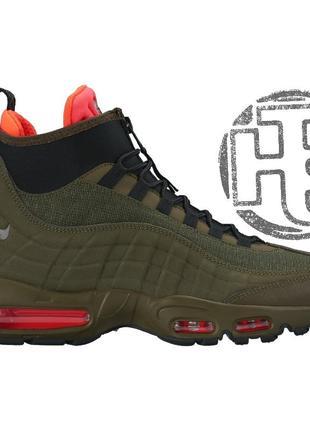 Мужские кроссовки nike air max 95 sneakerboot dark loden/black...