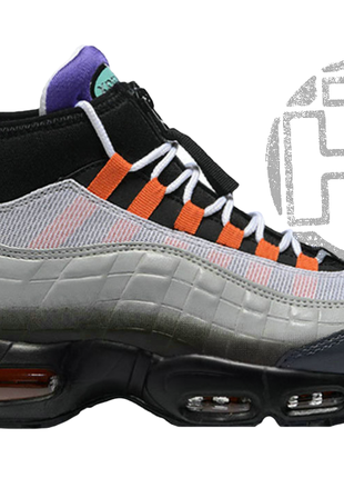 Мужские кроссовки nike air max 95 sneakerboot greedy black/vol...