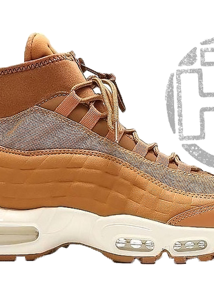 Мужские кроссовки nike air max 95 sneakerboot flax 806809-201