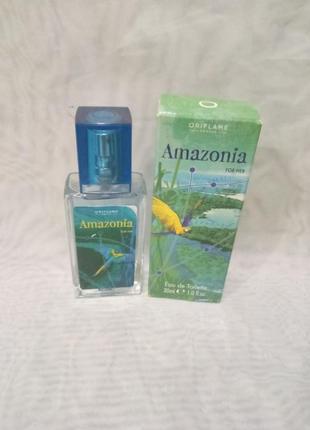 Amazonia for her,женская туалетная вода орифлейм