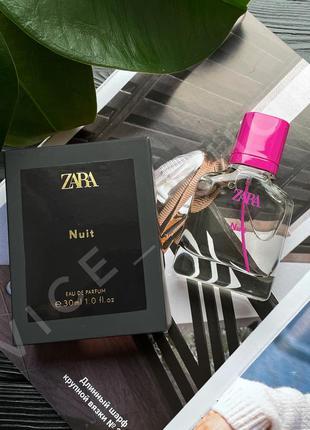 Zara nuit духи парфюмерия туалетная вода оригинал испания купить