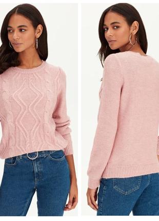 Трикотажный джемпер свитер lc waikiki вайкики