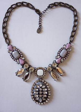 Красивое колье ожерелье s.oliver бижутерия