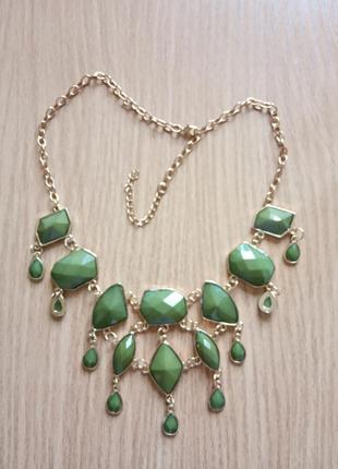 Роскошное колье ожерелье