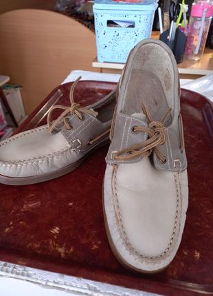 Мужские туфли. Топсайдеры