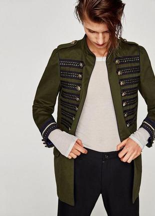 Крутой жакет в стиле милитари,пиджак,куртка,парка,тренч с наши...