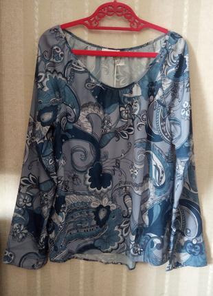 Недорогая блуза из легкого трикотажа отличного качества недорого
