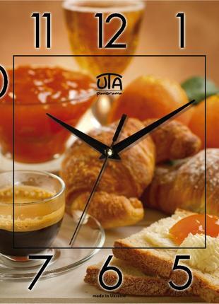 Часы настенные uta идеальные на кухню
