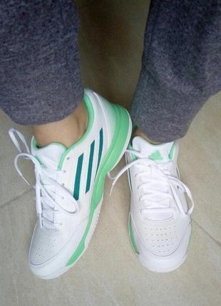 Кроссовки кожаные женские спортивные -оригинал adidas performa...