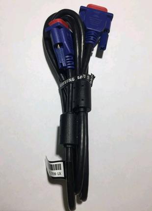 Кабеля для компьютера DVI и VGA