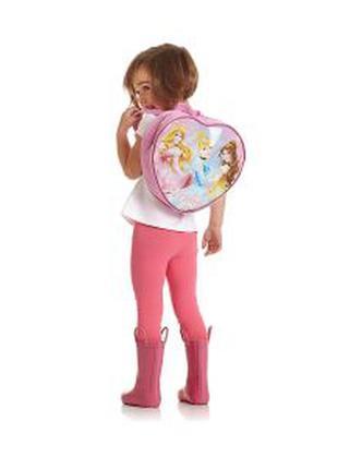 Mothercare новый рюкзак 3-6 лет в форме сердца принцессы для д...