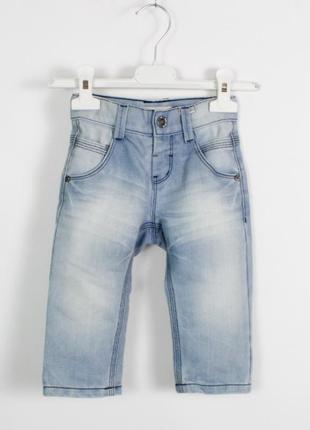 Name it 9-12 мес 80 см джинсы с натерками штаны