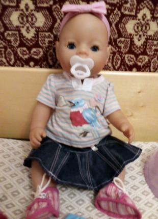 Беби Борн. Baby born. Zapf creation. Кукла. Пупс.