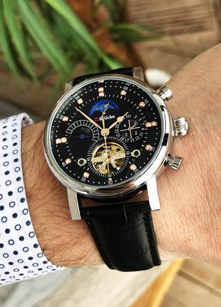 Наручные часы Brucke J025 Black-Silver Наручні часи, годинник
