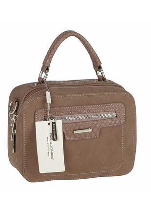 Женская сумка из экокожи david jones cm3510