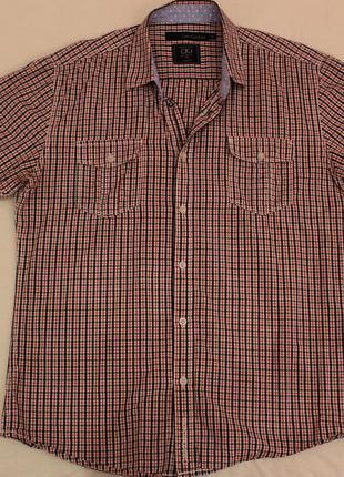 Мужская рубашка в клетку от Calvin Klein