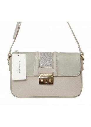 Женская сумка из экокожи david jones 5502-2