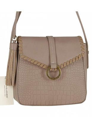 Женская сумка из экокожи david jones 5630-1