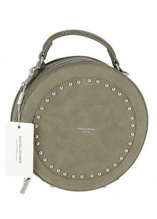 Женская сумка из экокожи david jones cm3585