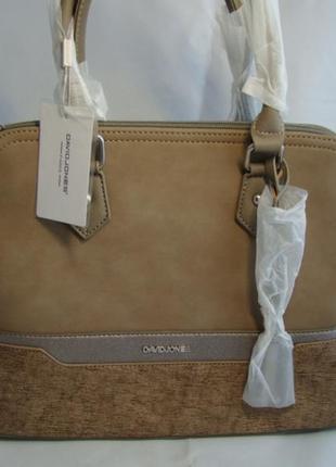 Женская сумка из экокожи david jones 5610a-2