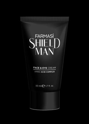 Чоловічий крем для обличчя та навколо очей Shield Man Amino Acid,