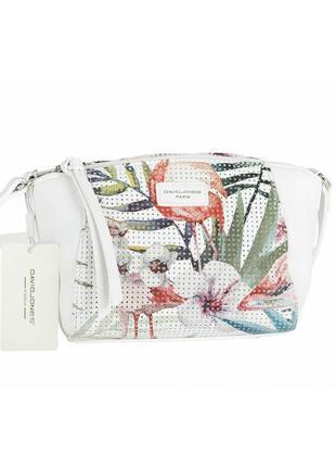 Женская сумка из экокожи david jones 5923-1a