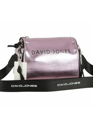 Женская сумка из экокожи david jones 5978a-1