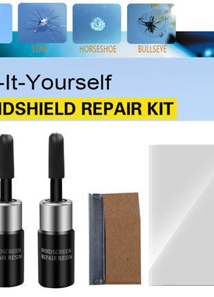 2 шт. набор клей-полимер для ремонта лобового стекла,окна авто,ма