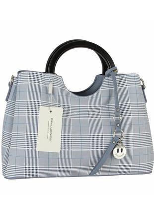 Женская сумка из экокожи david jones cm5193