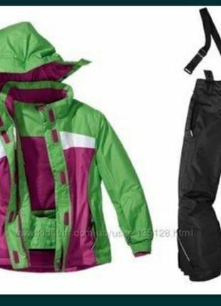 Костюм лыжный комбинезон зимний crivit мембранный костюм