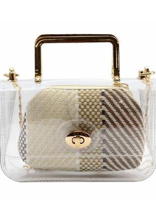 Женская сумка из экокожи keddo 14-01