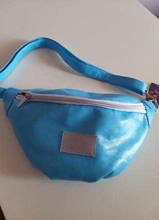 Женская сумка на пояс (бананка) из экокожи p632 a1
