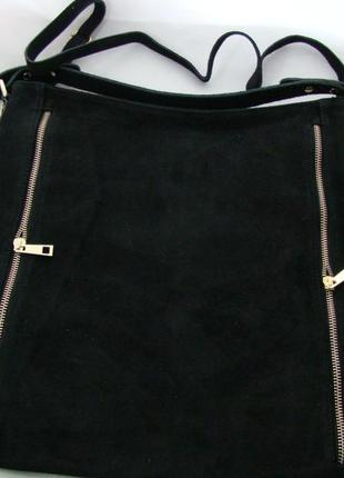 Женская замшевая сумка s0549zm