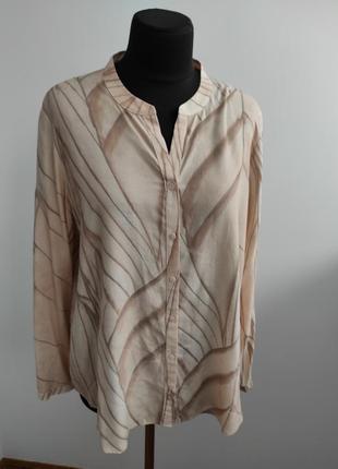 Натуральная блузка в пастельных тонах 20 р от gerry weber
