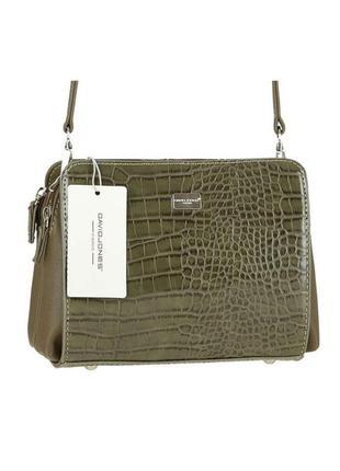 Женская сумка из экокожи david jones cm3528