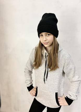 Детская кофта с капюшоном утеплённая на флисе💣🔥