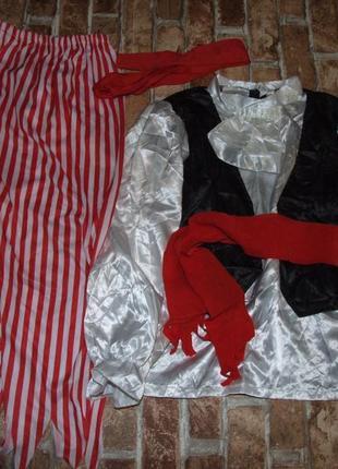 Новогодний костюм пирата 7-10 лет