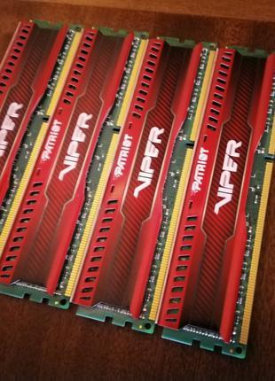 DDR3-2133 Patriot Viper 32gb (4*8) 1.5v гар.