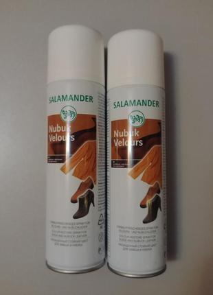 Краска  для замши нубука salamander 033 темно коричневый.
