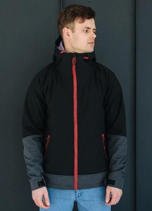 Куртка staff soft shell nort black