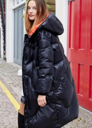 Ультролегкий зимний пуховик пальто одеяло на настоящем пуху ve...