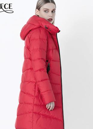S/ 42   суперкачественный теплый зимний пуховик / пальто био пух