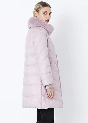 Xxl (50) стильный качественный фирменный пуховик пальто куртка...