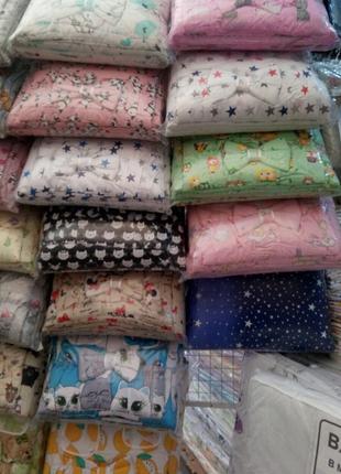 Набор детского постельного белья 9 предметов, Бортики в кроватку