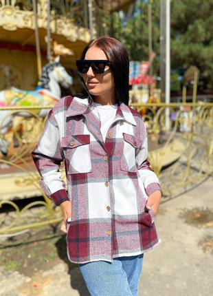 Рубашка пальто шерсть
