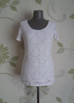 Кружевная блузка кофточка футболка