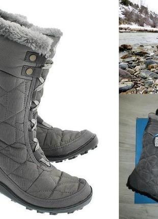 Женские зимние сапоги-дутики-ботинки оригинал columbia
