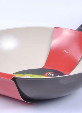 Сковорода TVS 28см керамика Италия