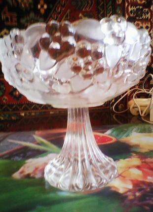 Хрустальная вазочка - креманка пр-во Германия