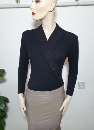 Шикарная базовая блуза боди италия imec